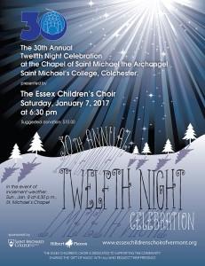 Essex Children's Choir First Night 2017