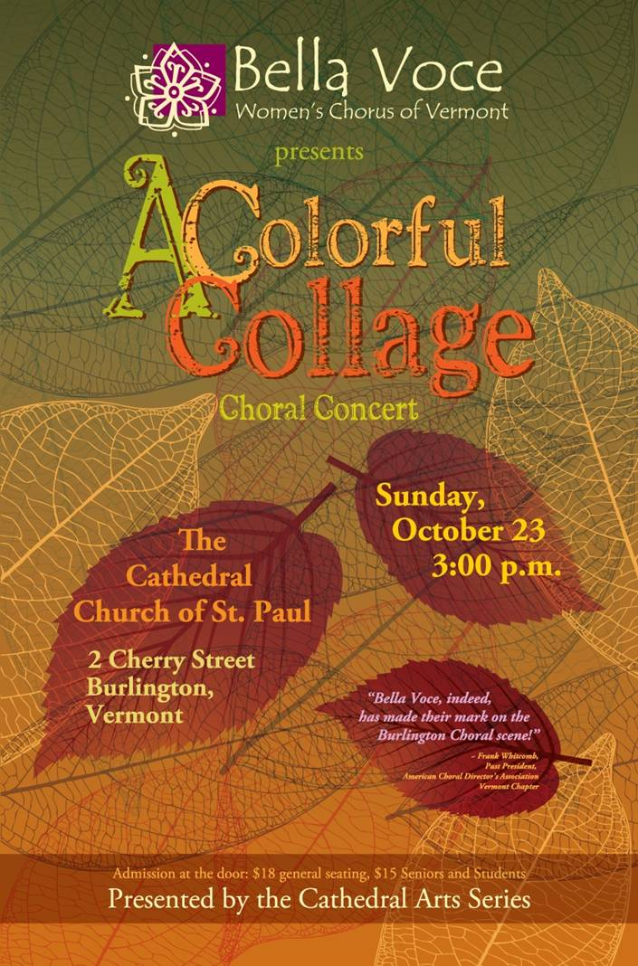 Bella Voce, Fall 2011 concert, conducted by Dawn Willis, ACDA member