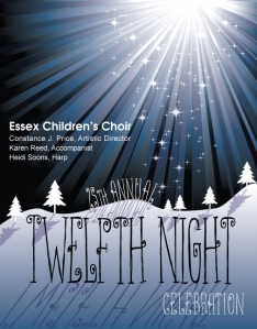 Essex Children's Choir, directed by ACDA member Constance Price, 12th Night January 2012